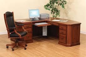 Office Desk Wooden Wooden Corner Desk Home Lustwithalaugh Design Well Organizer