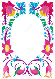 Design Patterns For Cards Celebratory Card Design Of A Flower Ornament Royalty Free