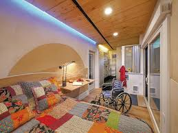 a vermont company designs handicap accessible modules for any home click to enlarge wheelpad bedroom carolyn bates photography