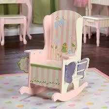 Personalized Kid Chair Fantasy Fields Bouquet Potty Rocking Chair Hayneedle