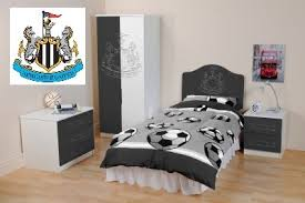 Bedroom Furniture Newcastle Newcastle United Fc Complete Set Of Bedroom Furniture Wardrobe