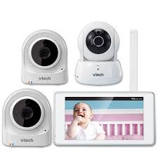 Front Door Camera System by Expandable Wireless Hd Video Baby Monitor With 1 Wi Fi Camera And
