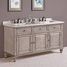 Bathroom Vanity With Farmhouse Sink by Antique Legion 67 Inch Antique White Double Sink Bathroom Vanity