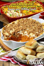 top 5 best thanksgiving day side dishes thanksgiving