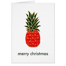 pineapple christmas cards u0026 invitations zazzle co uk