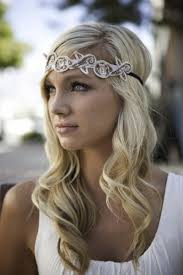 Pinterest Formal Hairstyles by Hairstyles Using Headbands Vintage Forehead Bridal Headband Down