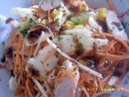 cuisine chinoise facile recette de salade de crudité façon chinoise