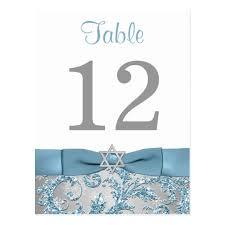 winter wonderland table numbers printed bow winter wonderland table number card zazzle com