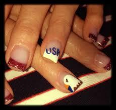 4th of july nail art nails 4th of july pinterest