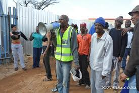 workers protest ends society south african national
