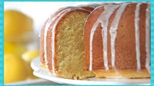 how to make southern lemon pound cake from scratch youtube