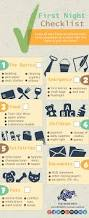 first night in new house checklist infographic infographic