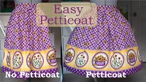 how to make a petticoat diy and simple petticoat