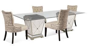 Mirrored Dining Room Furniture Mirrored Dining Room Set Bettrpiccom Ideas With Round Table