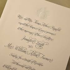 E Wedding Invitations Engraved Wedding Invitation R 176 E