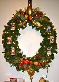 lighted christmas wreaths for windows bud light wreath my homemade things pinterest lighted wreaths