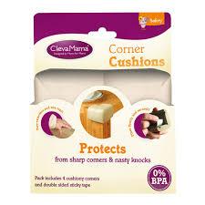clevamama corner cushion 4 pack