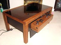 Gaming Coffee Table Coffee Arcade Inspired By Gaming Tables The Luxury Retro