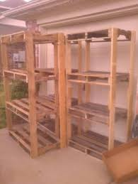 Building Wood Shelf Garage by Ryobi Nation Pallet Shelves For The Garage Diy Cool Stuff To