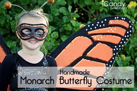 how to make wings for halloween diy monarch butterfly costume icandy handmade