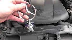 mercedes emblem removal and installation with