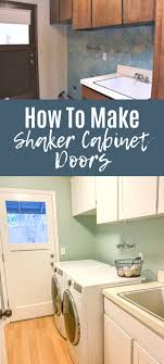 how to turn kitchen cabinets into shaker style how to make shaker cabinet doors from flat paneled doors a