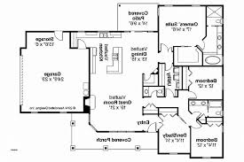 ranch style house plans with walkout basement lovely floor plans for ranch homes with walkout basement floor plan
