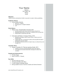 exle resume for application scholarship resume template college format high school free word
