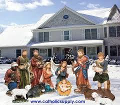 outdoor nativity set 53392 jpg
