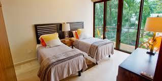 Bedroom Water Feature Condo Nahil 1 On Half Moon Bay Akumal Mexico