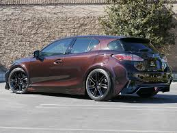 bronze lexus lexus tuning widebody ct 200h project ct by five axis
