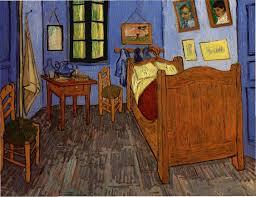 chambre vincent gogh gallery of vincent gogh la chambre a coucher la chambre