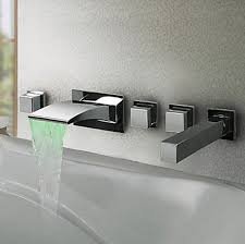 Wall Bathroom Faucet by Wall Mounted Basin Faucets Faucetsmarket Com Providing Best