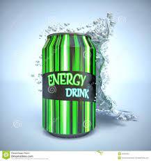 drink splash energy drink with splash stock illustration image 54058362