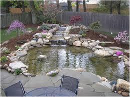 backyards amazing backyard ponds with waterfalls garden ponds