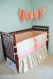 baby bedding crib bedding linen pink and lace crib bedding