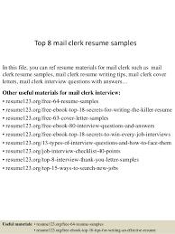top 8 mail clerk resume sles 1 638 jpg cb 1429948113 10 marketing resume sles hiring managers will notice