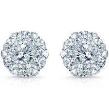 silver diamond earrings earrings costco