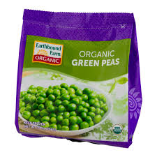 earthbound farm organic green peas 10 oz walmart com