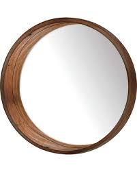 get this amazing shopping deal on wooden wall mirror brown