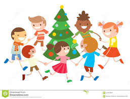 christmas tree clipart christmas celebration pencil and in color