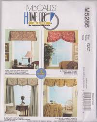 amazon com mccall u0027s patterns m5286 window valances all sizes