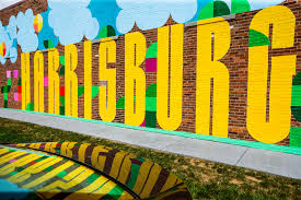 Wall Mural Shining Through The Harrisburg S About To Get Even More Colorful Murals In The