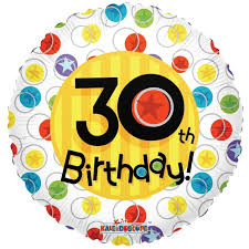 30th birthday balloons delivered flower station 30th birthday balloons delivery in uk