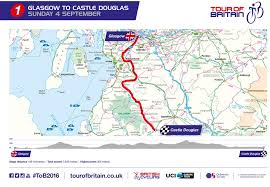 tour of britain 2017 route stage by stage details and where to