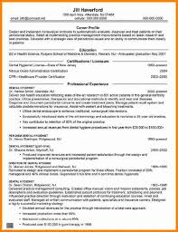 Mission Statement For Resume 5 Entry Level Dental Hygienist Resume Samples Cashier Resumes