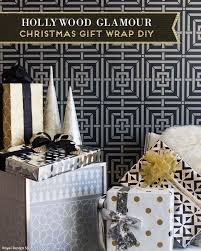 black christmas wrapping paper stencil tutorial diy wrapping paper project and ideas