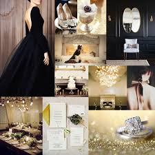 black and gold wedding ideas black gold gold weddings gold and inspiration