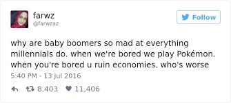 Baby Boomer Meme - 20 of the best comebacks to baby boomers who complain about