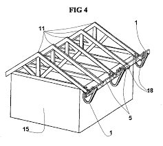 patent us20070017741 truss mounted rooftop fall protection